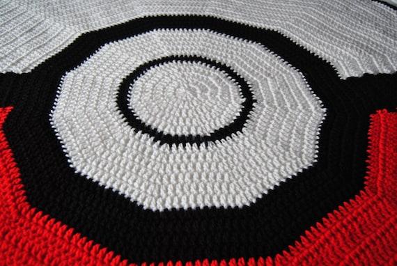 Poke Ball Blanket Crochet Pattern Pokemon Mario Gamer