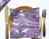 Hand Marbled Fabric - Clo...