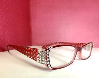 Swarovski Crystal Reading Glasses  +2.25  +2.75