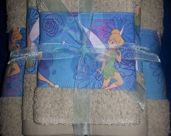 Tinkerbell Bath Set