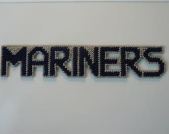 Mariners in Handmade, Needlepoint Magnets