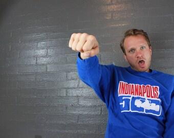 SALE Vintage Indianapolis 500 Racing Sweatshirt