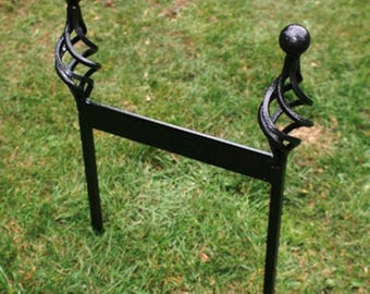Wrought Iron Boot Scraper Outside Walking Cleaning