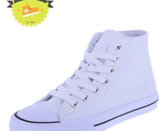 Kids Hi-Top Sneakers