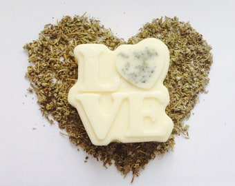 Conditioner Bar Sage Solid Conditioner Handmade with Shea Butter