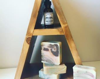 2 Shampoo bars & 1 Hair Serum - You Choose - Handmade+Natural