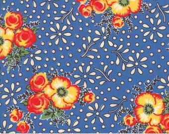 Blue Merry Go Round Fabric - 21720 18 - American Jane - Moda
