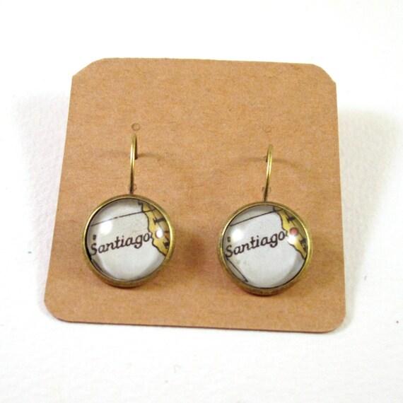 Map earring - Latin America variations