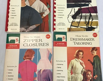 Singer Sewing Library Books, Price is per Book