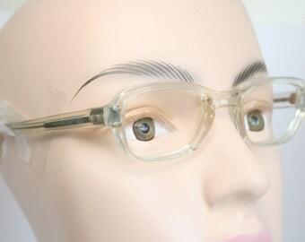 Unused Unique Small Vintage Eyeglass Frames New Old stock Vintage Eyewear 1980s Vintage Glasses Unique