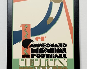 World Cup 1930 poster - Uruguay