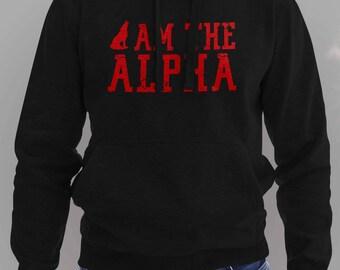 I Am The Alpha Hoodie Teen Wolf #J
