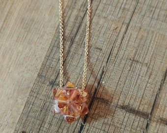 Everything is Comin' Up Roses Fireball Necklace