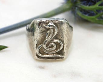 Serpent Ring (Sterling Silver)