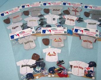 Baseball Team Stickers ***SALE***