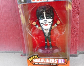 NRFB 1990s Equity Toys KISS Rock HEADLINERS Statue Limited Edition - Peter Criss