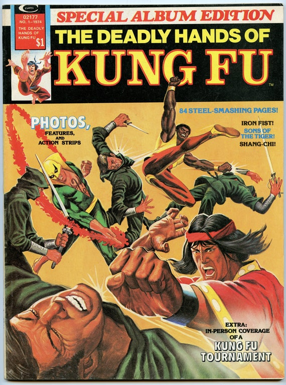 Deadly Hands of Kung Fu Special Album Edition 1 Summer 1974 VF- (7.5)