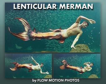 Lenticular Merman