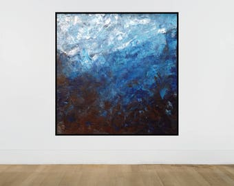 Large Abstract Painting, Original Large absract painting, Abstract Painting, Extra Large Painting, Made to Order, Free Shipping