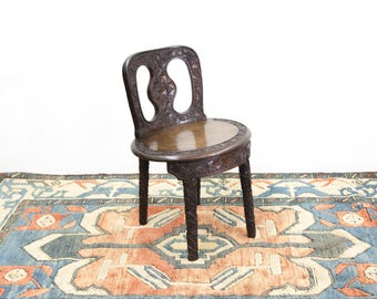 Carved Grapevine Chair