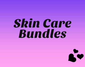 Bundles for Skin Care (Self Care Days, Seal In Moisture, Facial Soap) Detoxification Mask (Facial Mask, Clay Mask)