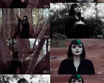 "Priestess Series 01-08 Prints: 4x6"""