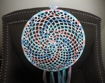 circular multicolored pattern DC