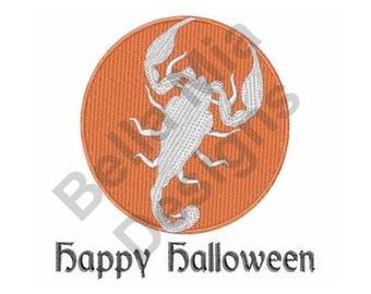 Happy Halloween - Machine Embroidery Design, Halloween
