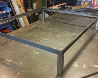 Iron Table Base / Trunk Base,table Base,metal Table Base, Loft Furniture