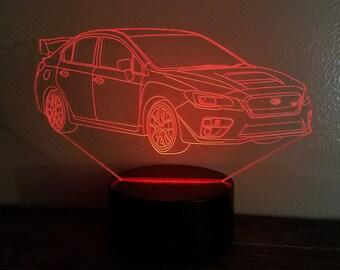 Subaru Impreza WRX STI 2017 LED Display