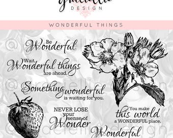 Wonderful Things - Digital Stamp Set