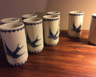 Blue Bird Glasses