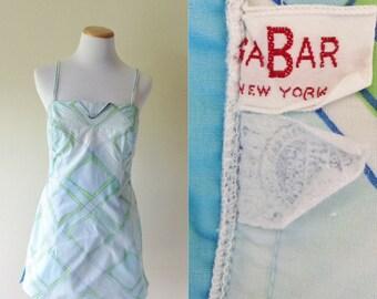 GaBar Bathing Suit/Romper | 1960's