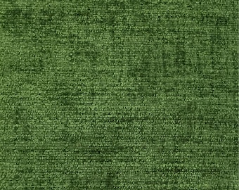 Solid Grass Green - Richard - Upholstery Fabric by The Yard