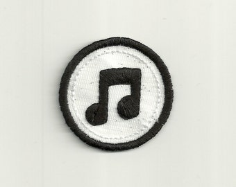 "2"" Music Merit Badge, Patch! Custom Made!"