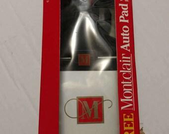 Montclair Cigarettes Auto Pad Notepad