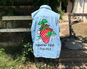 Strawberry fields forever vest