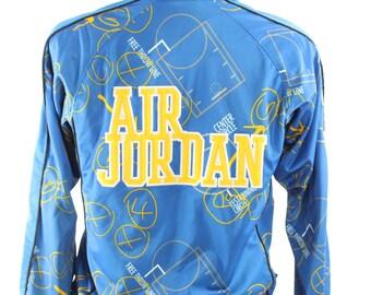 AIR JORDAN Basketball Jacket Warm Up Windbreaker Mens Athletic Jacket Sports Fashion Vintage 1990s Medium M