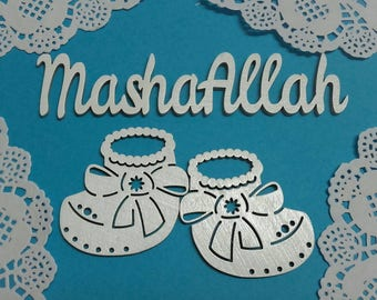Wooden aqiqah decoration, wooden sign BABY MUBARAK,aqiqah wreath,aqiqah Mubarak,aqiqah decoration,Islamic baby shower, new born muslim