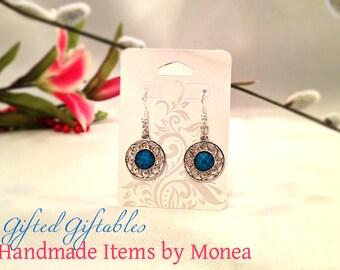 Aqua Blue Earrings, For those craving blue earrings, Dangles