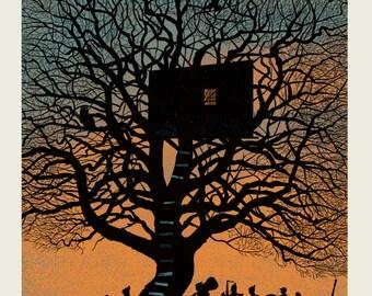 Treehouse silkscreen