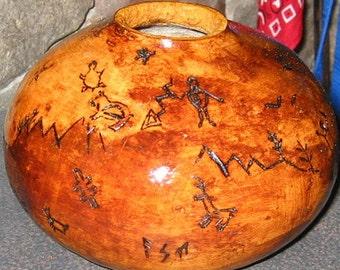 Cave Art Gourd