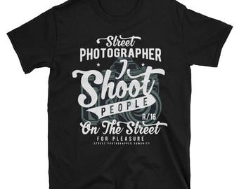 Street Photographer T Shirt Street Fashion Style Tee Photographer Vintage T Shirt Trendy Fabulous Cool Graphic Gift T Shirt For Photographer