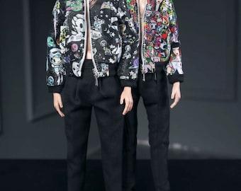 Tokidokki jacket for fashion royalty , Poppy Parker, Silkstone Barbie, fr2 , 12'' Fashion Doll