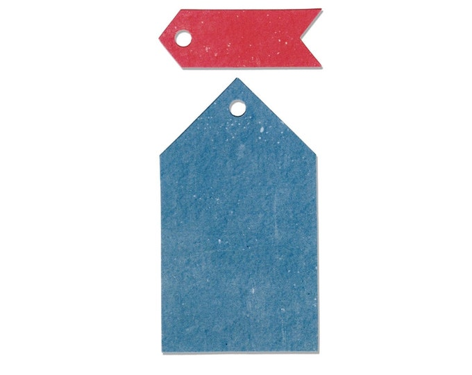 Sizzix Border Originals Die - Tags, Pointed by Echo Park Paper Co. 660445