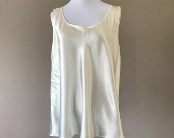 1X / Camisole / Ivory / Plus Size / Extra Large