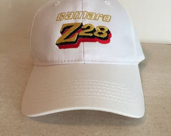 Custom Embroidered Camaro Z28 Cap