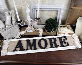 Great Amore Italian Wall Decor Rustic Wood Thatu0027s Amore Sign Couples Love Italian  Wedding Decor Wooden Bedroom