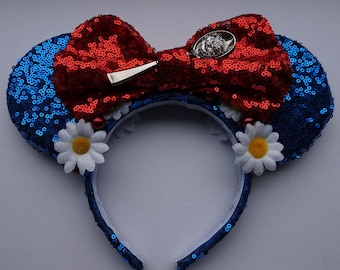 Handmade Spoonful of Sugar Sequin Mouse Ears Mary