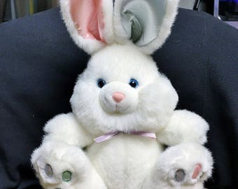 "Plush White Easter Bunny 13"" - NWOT"